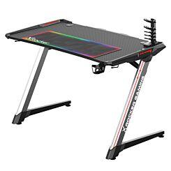 X Rocker Lynx Full Colour LED Gaming Desk