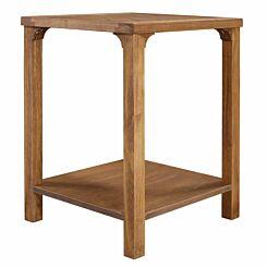 Leon Wood Side Table