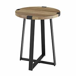 Albacete Rustic Side Table Wood