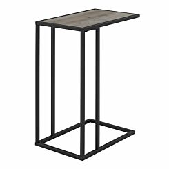 Alzira Modern End Table Grey