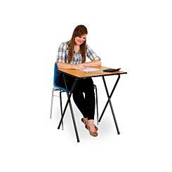 Exam Desk Folding Beech
