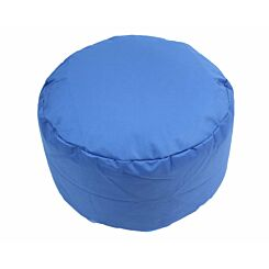 Kaikoo Round Beanbag Footstool Block Colour Navy