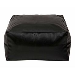 Kaikoo Square Slab Beanbag Black