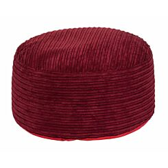 Kaikoo Cord Beanbag Stool Red