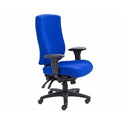 TC Office Marathon Heavy Duty Task Chair Royal Blue