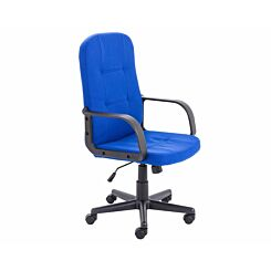 TC Office Jack II Fabric Managers Chair Royal Blue