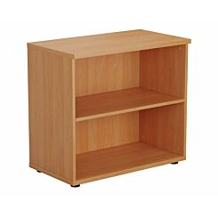 TC Office Bookcase with 1 Shelf Height 730mm Beech