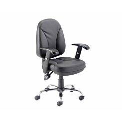 TC Office Puma Leather Look Task Chair