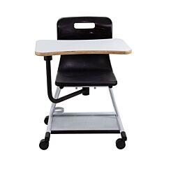 TC Office Titan Teach Chair with Writing Tablet Black