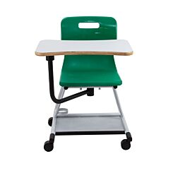 TC Office Titan Teach Chair with Writing Tablet Green