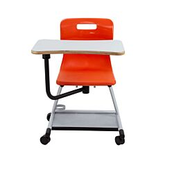 TC Office Titan Teach Chair with Writing Tablet Orange