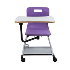 TC Office Titan Teach Chair with Writing Tablet Purple