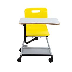 TC Office Titan Teach Chair with Writing Tablet Yellow