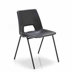 TC Office Economy Polypropylene Chair Black