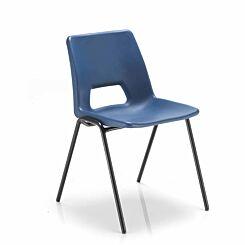 TC Office Economy Polypropylene Chair Blue