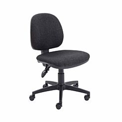 TC Office Concept Mid Back Chair Charcoal
