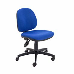 TC Office Concept Mid Back Chair Royal Blue