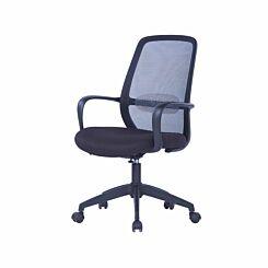TC Office Soho Mesh Task Chair Black