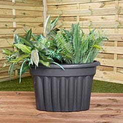 Wham Vista Traditional Corner Planter 49cm Set of 3
