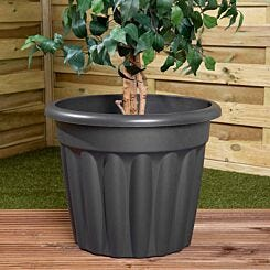Wham Vista Traditional Planter 50cm Set of 3 Graphite