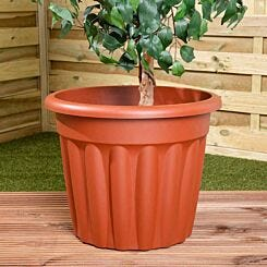 Wham Vista Traditional Planter 50cm Set of 3 Terracotta