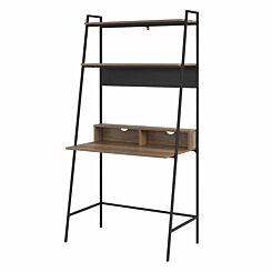 Alzette Modern Wood Ladder Computer Desk 92cm