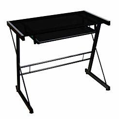 Orne Modern Computer Desk 79cm Black