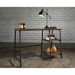 Teknik Office Industrial Bench Desk Oak