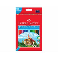 Faber Castell Eco Pencils Colour Pack 36