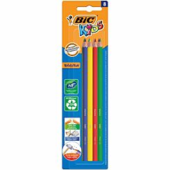 BiC Kids Evolution Colouring Pencils Pack of 8