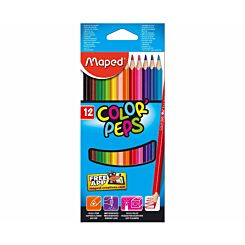 Maped Color Peps Colouring Pencils Pack of 12