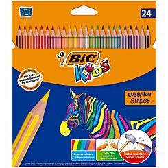 BIC Kids Colouring Pencils Pack of 24