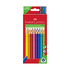 Faber Castell Jumbo Colour Pencils Pack Of 20