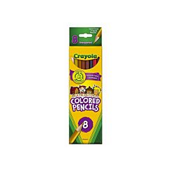 Crayola Multicultural Pencils Pack of 8