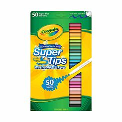 Crayola SuperTips Colouring Pens Pack of 50