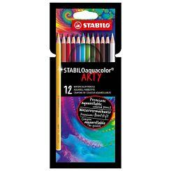 STABILO Aquacolor ARTY Wallet of 12