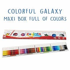 Carioca Fibre Colouring Pens Set of 96