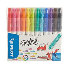 Frixion Colours Wallet of 12 Assorted