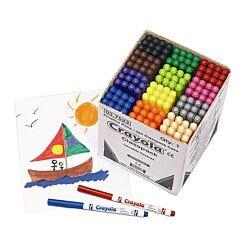 Crayola Super Tip Pens Classpack of 144