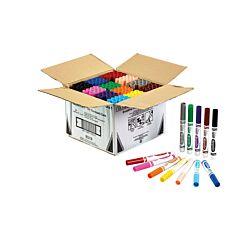 Crayola Broad Line Colouring Pen Classpack of 144