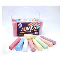 Jumbo Playground Chalk Pack of 52