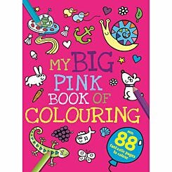 My Big Pink Colouring Book