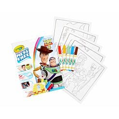 Toy Story 4 Crayola Colour Wonder Mess Free Colouring Book