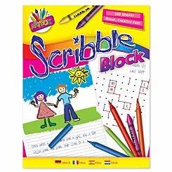 Artbox Scribble Block 100 Sheet 176x226mm