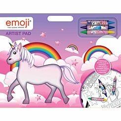 Emoji Unicorn Artist Pad