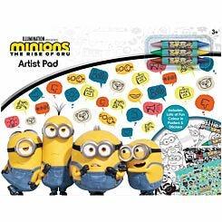 Minions Movie Artist Pad