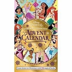 Disney Princess Giant Advent Calendar with 24 Books