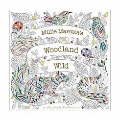 Millie Marotta Woodland Wild Colouring Book