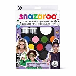 Snazaroo Face Paints Ultimate Party Pack 21 Piece