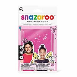 Snazaroo Fantasy Face Paint Stencil Pack of 6